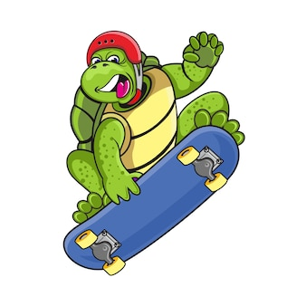 Turtle skater