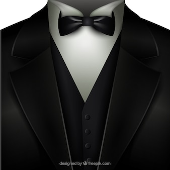 Tuxedo with a bow tie