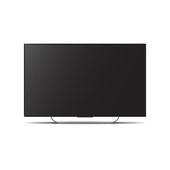 Телевизор с плоским экраном жк или олед, плазма