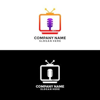 Tv 로고 디자인