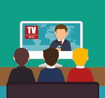 Tv news design