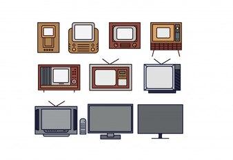 TV Revolution 1930's - 2017