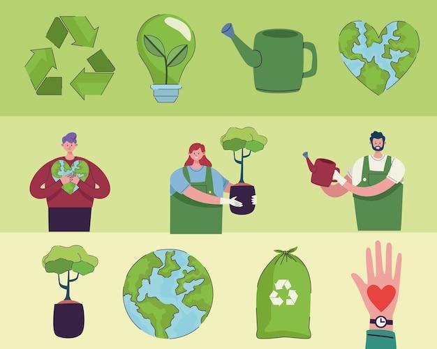 Двенадцать иконок экологии