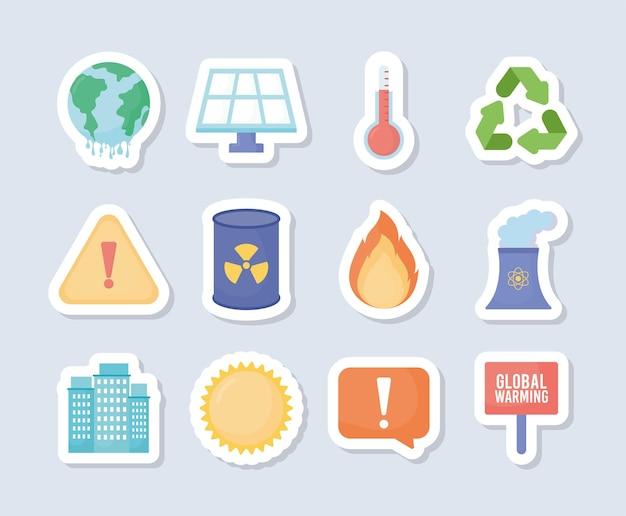 12가지 지구온난화 아이템
