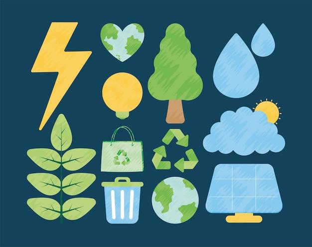 Двенадцать экологически чистых предметов