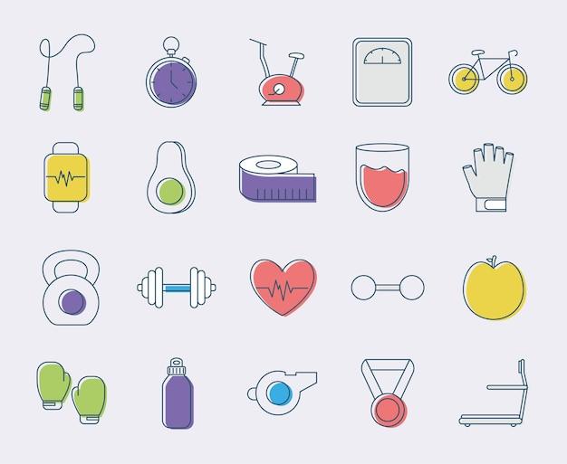 Twenty fitness items