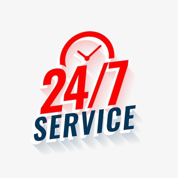 Twenty four service