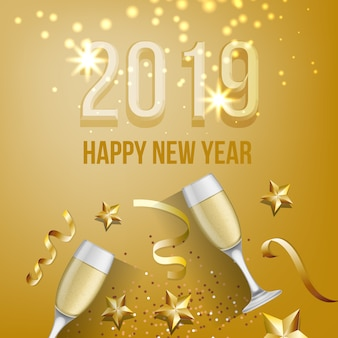 New Year Background Vectors Photos And Psd Files Free Download