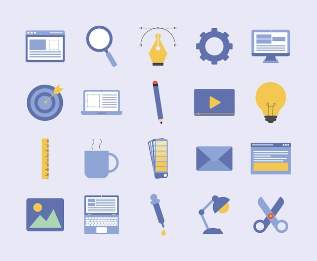 Twenty web design items
