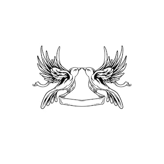 双子のハチドリ