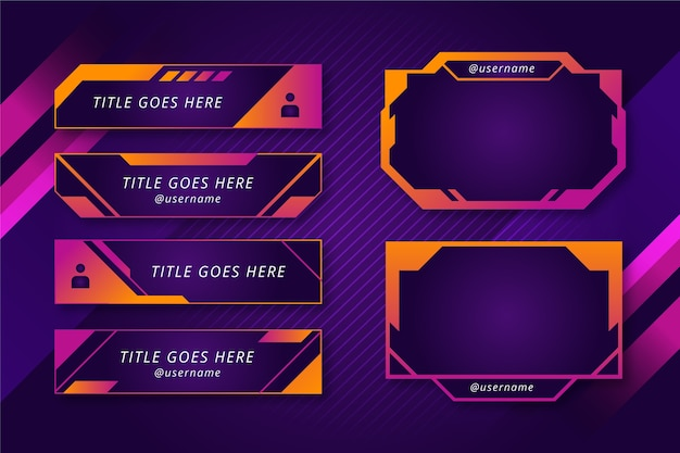 Twitch stream panels