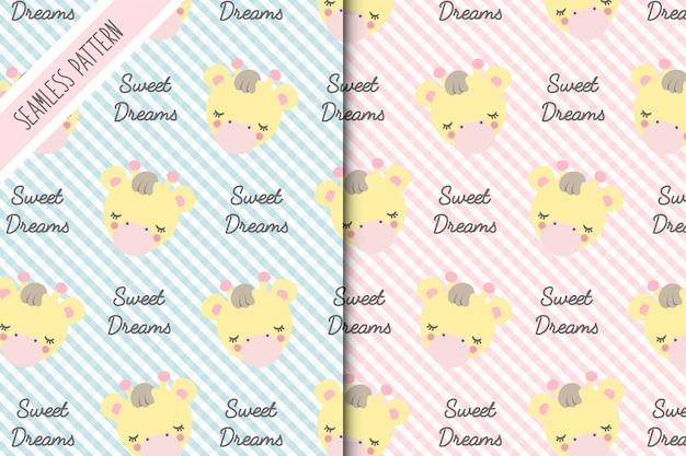 Two baby giraffe backgrounds premium