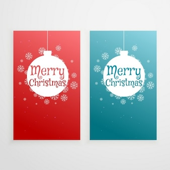 Two cards, christmas
