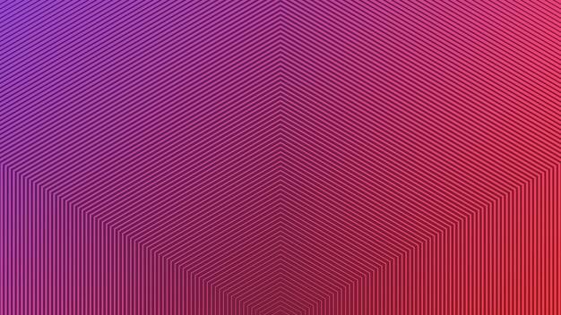 선을 주요 요소로 사용하는 2색 추상 배경.