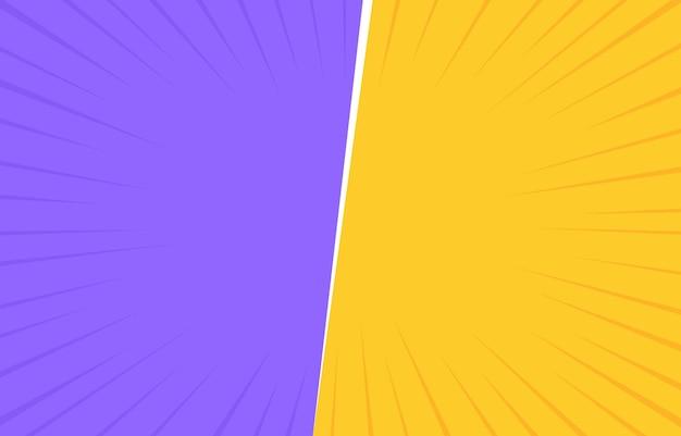 하프 톤 모서리가있는 두 가지 색상 복고풍.