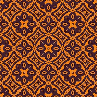 2色のシンプルなパターンの飾りの背景。シームレスな抽象的な形