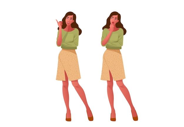 Двух девушек. думаю и доволен. красивое лицо, сомнения, проблемы, мысли, эмоции.