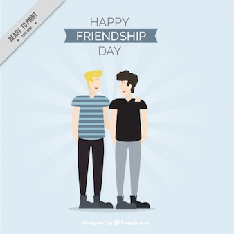 Due grandi amici nel giorno amicizia