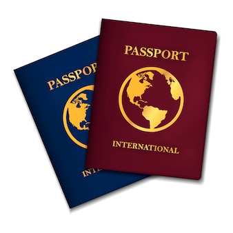 Two international passports concepts