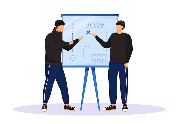 Two men planning criminal act