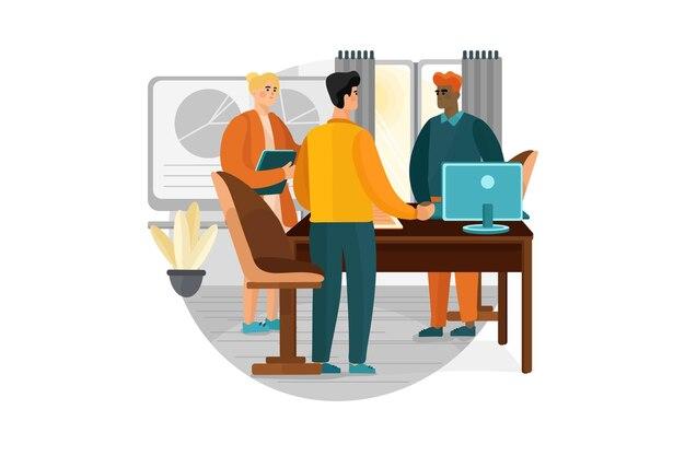 Двое мужчин, пожимая руки на деловой встрече