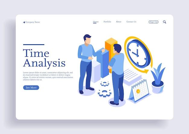 時間管理とビジネスの成長について話し合う2人の男性