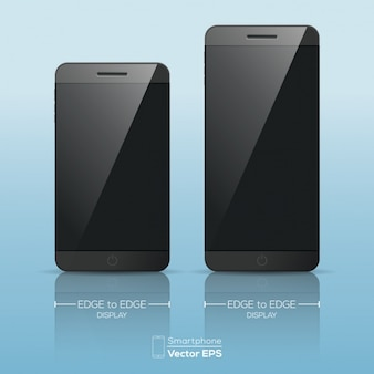 Two mobiles with different size