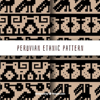 Two peruvian patterns