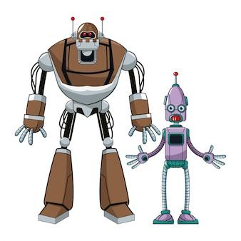 두 가지 로봇 미래 기술