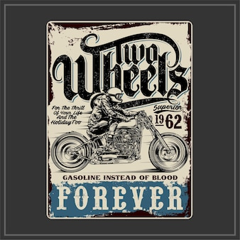 Two wheels forever