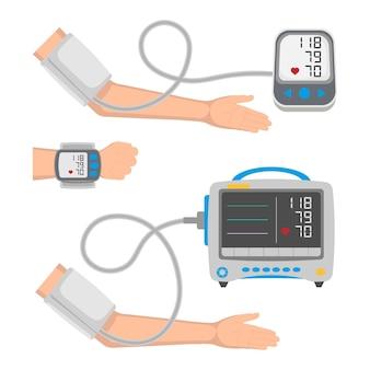 Types of blood pressure monitor set