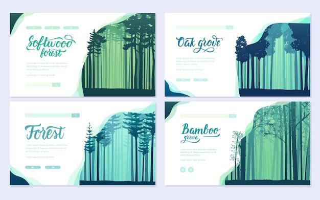 Виды деревьев со всего мира