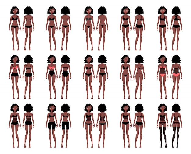 Types of woman underwear