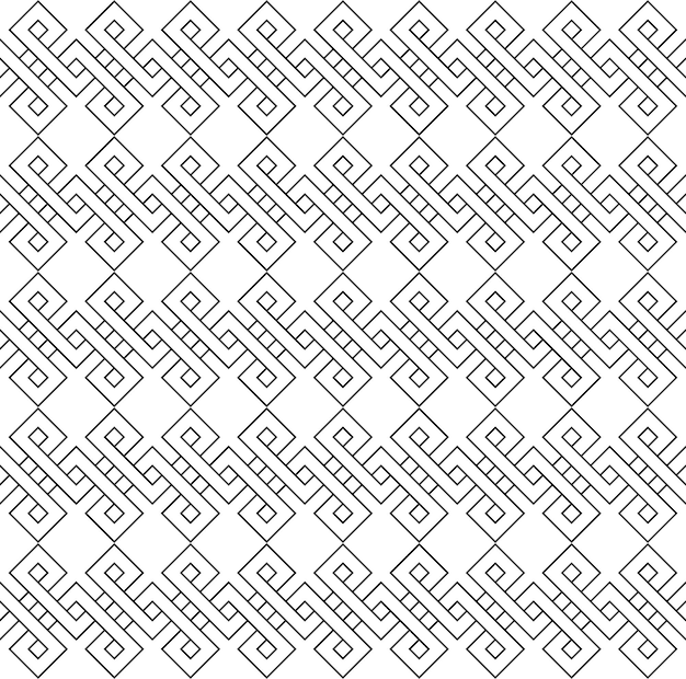 Typical egyptian assyrian and greek motives greek key arabic geometric texture islamic art