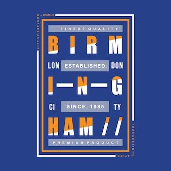 Typographic t shirt design vector