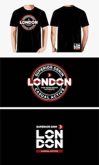 プリントtシャツのタイポグラフィデザイン