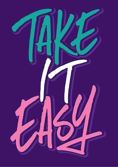 Typography, slogan & quote