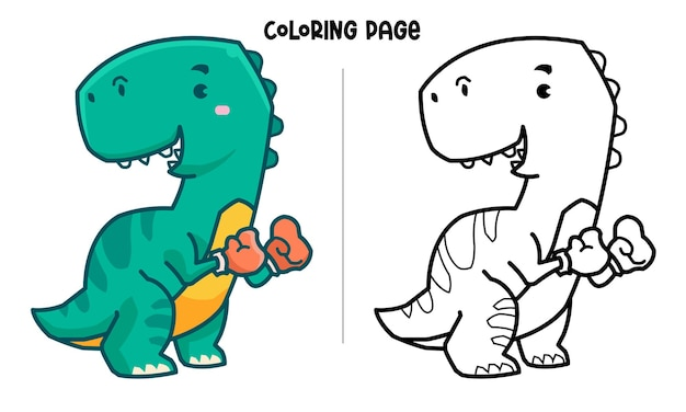 ティラノサウルスザボクサー