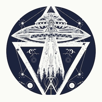 Ufo 문신
