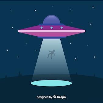 Современная концепция абдукции ufo с плоской конструкцией