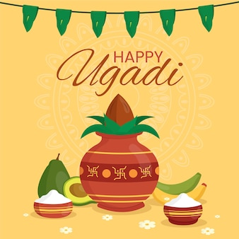 Ugadi banner holiday