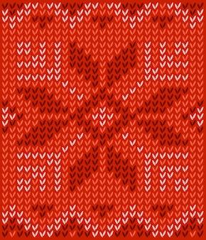 Ugly sweater merry christmas and happy new year greeting card template. pattern with scand