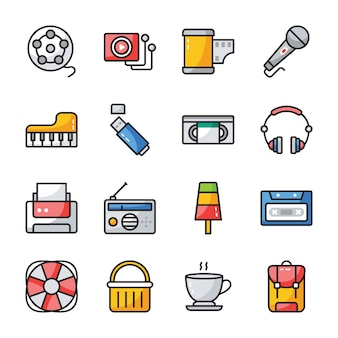 Ui flat icons pack