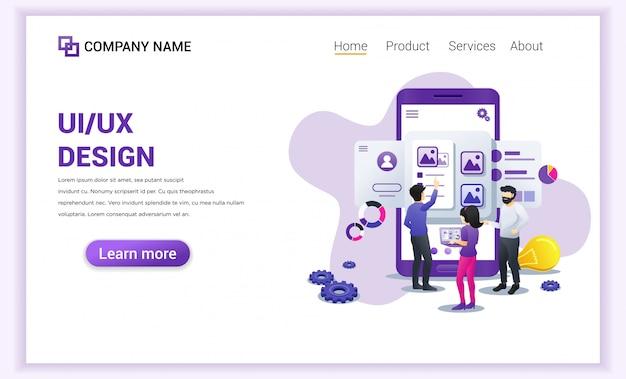 Ui ux designers ui дизайн целевой страницы.