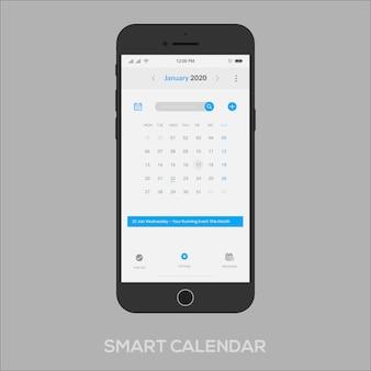 スマートカレンダーアプリui ux