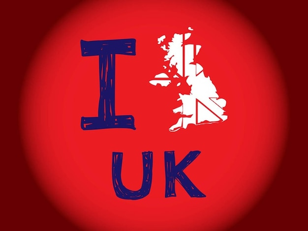 Uk european country vector graphics