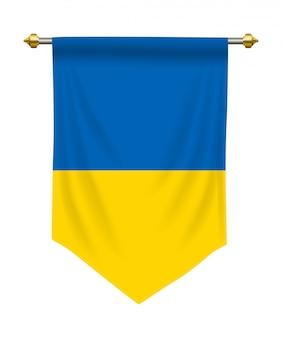 Ukraine pennant