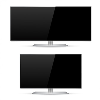 Ultra wide and modern tv