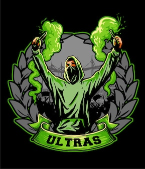 Ultras hooligan