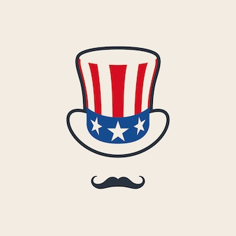 Uncle sam's symbol.